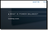 What Is Power Balance. Hmmmm.