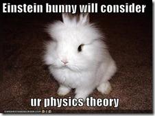 Einstein Bunny 2