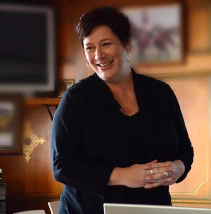 Dr Rachael Dunlop, June 2011