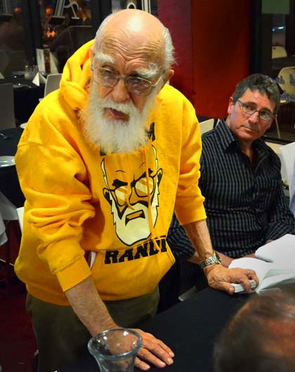 James Randi at La Notte - Nov 2012