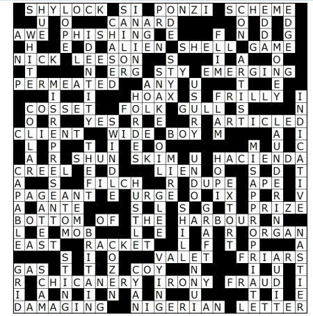 34 June 2013 crossword soln