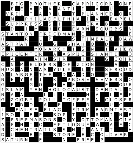 39  Nov 2013 crossword solution