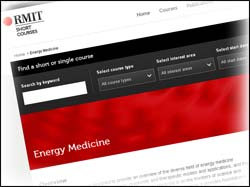 Energy medicine at RMIT