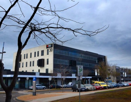 RMIT Teaching Clinic building. University Hill Bundoora