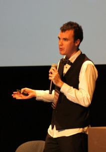 Ross Balch speaking at 2015 Australian Skeptics Convention