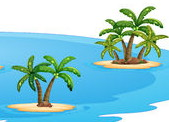 islands-illustration-set-many-47455985