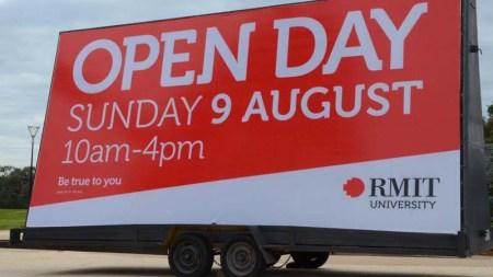RMIT Open Day TCM 2015