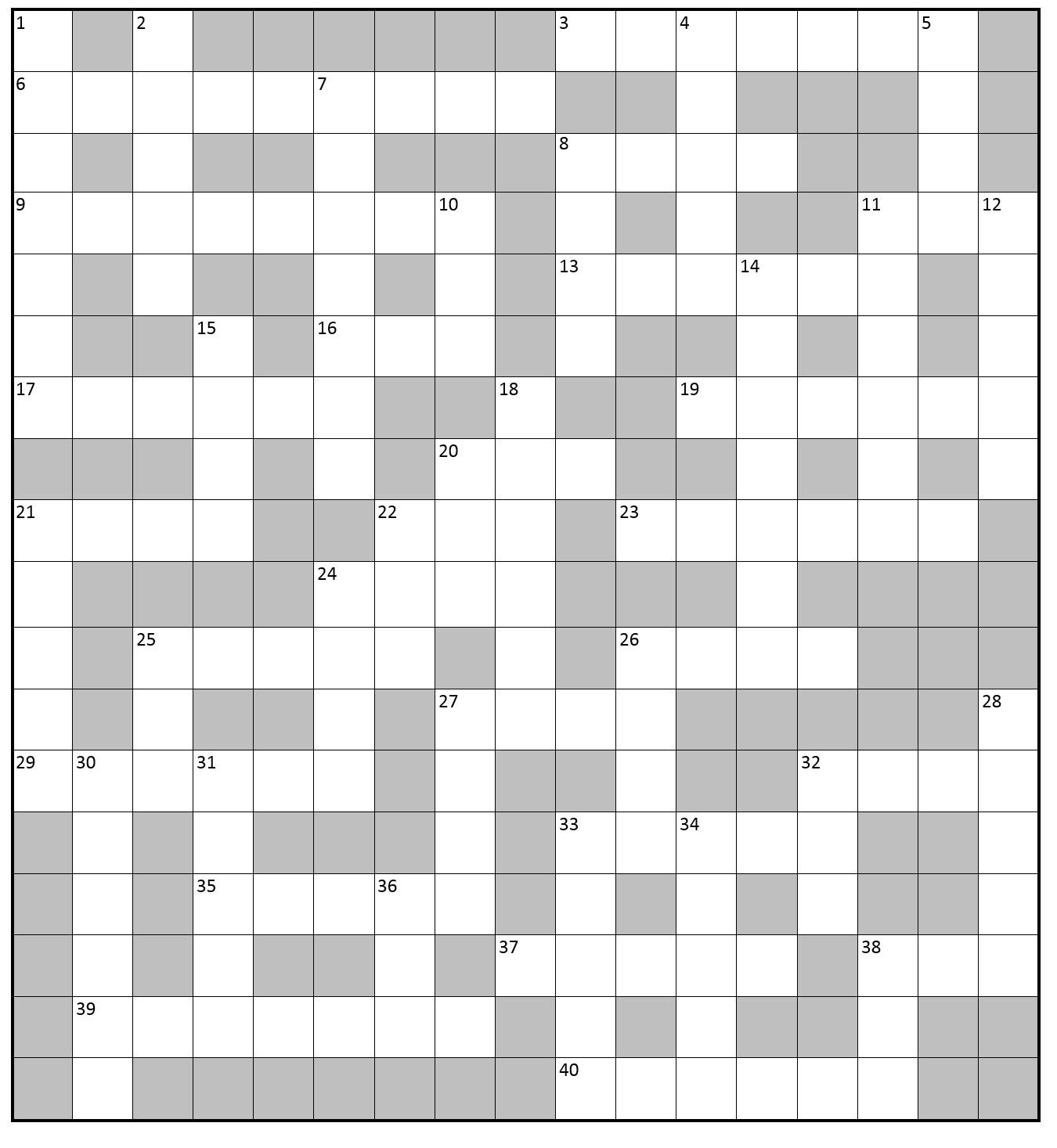 Skeptical people crossword